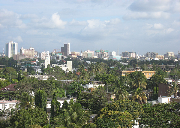 Dar Es Salaam Tanzania  City pictures : Description: part of Dar es Salaam city, Tanzania capital city.